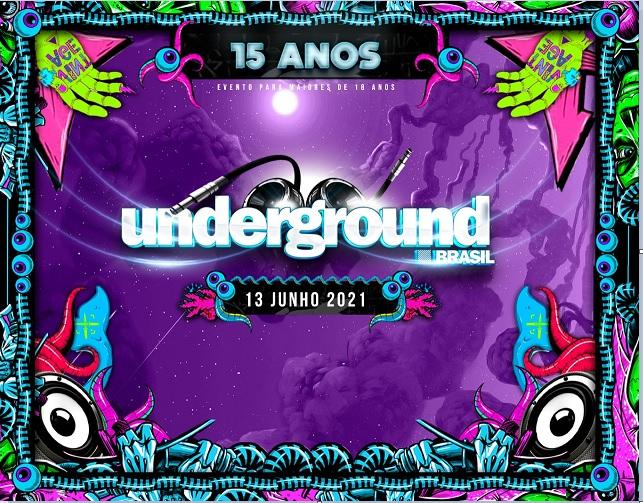 Underground Brasil 15 Anos